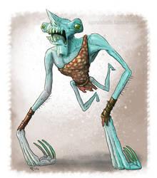 Goblin Week 1 by Ammonite-Amy