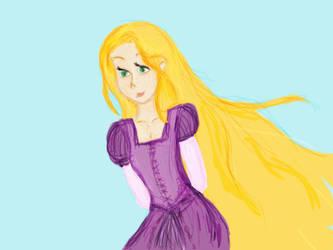 Rapunzel by Dledee