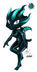 Edge: the super chao by kittygomou