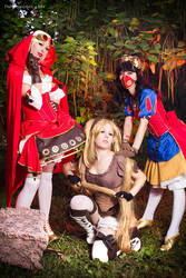 Steampunk Fairy Tale Group by Anita-Lust