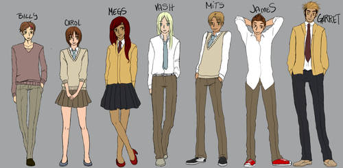 Meet the Cast of BH by Reogun
