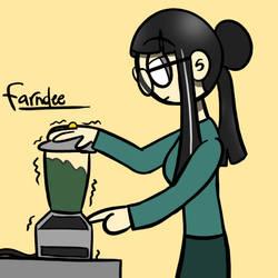 Making Spinach Juice by FarndeeAddam