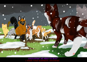 MoonClan Assignment 7: Strangers in Camp by Nixhil