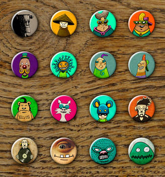 Buttons 04 by MaComiX
