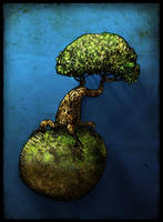 Tree Planet by MaComiX