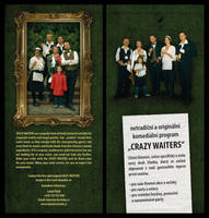 Crazy Waiters Leaflet 1 by MaComiX