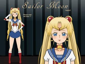 [Kisekae] Sailor Moon +Export by ChocoKei