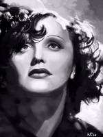 Edith Piaf by enfantome