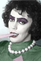 Frank N Furter Colorization by The-Leopard