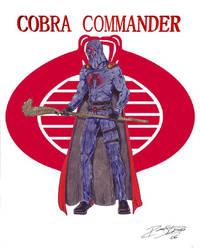 Cobra Commander by GuardianWarrior
