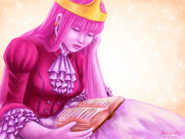 Princess Bubblegum by cold-nostalgia