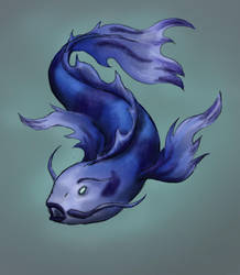 Koi by ColoredPencils