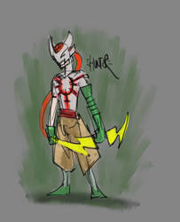 hunter by eyemageone