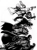 The Robins ink by nic011