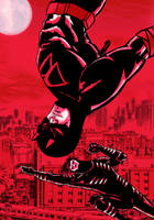 DareDevil and blindspot by nic011