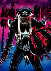 Death Metal Zombie Cop L.A.'snightmare by nic011