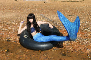 Mermaid fin flip stock (2014) by QueenWerandra