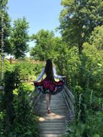 Gypsy girl on the bridge by QueenWerandra