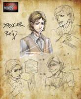 Criminal Minds- Spencer Reid by koulin