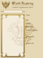 Gakuen Hetalia character sheet by koulin