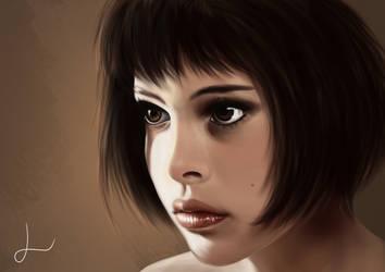 Fanart - Mathilda - Leon by LorielDesign