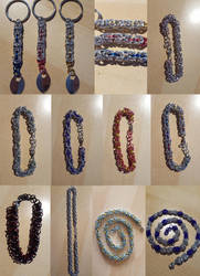 Some chainmaille by gogosweden