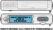 MP3 player working on by nikitamoh