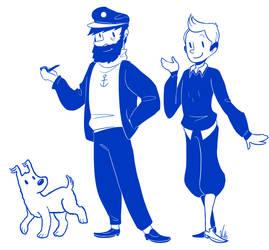 Tintin by AskPrincesMultifruit