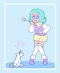 Pastel girl by AskPrincesMultifruit