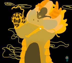 Glod Dragon by Bearleaf