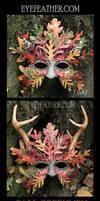 Fall Oakmen Masks by eyefeather
