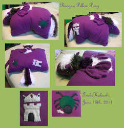Roogna Pillow Pony by TsukiKakushi