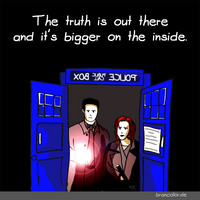 X-Files meets Doctor Who by mannelossi