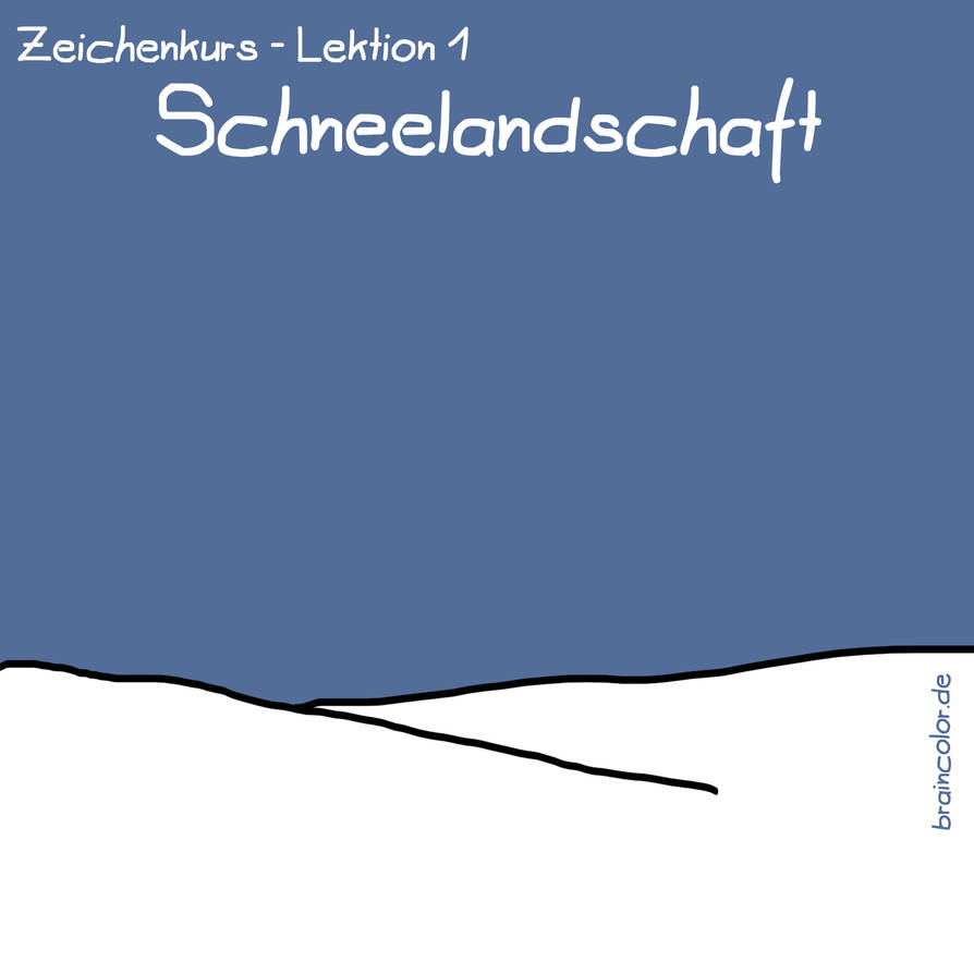 Schneelandschaft by mannelossi