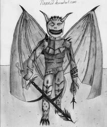 Insane demon dude by nexu22
