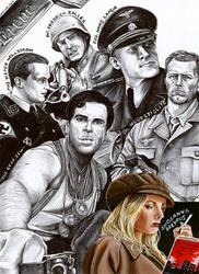 My Honor is Loyalty_ Inglorious Basterds Poster by Dietlinde