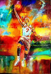Carmelo Anthony by Beatles74i0c