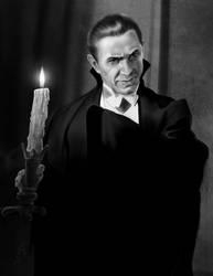 Lugosi - Dracula (1931) by Duncan-Eagleson