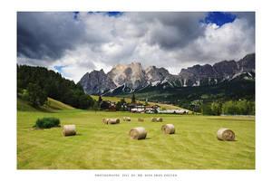 Cortina, Dolomites - II by DimensionSeven