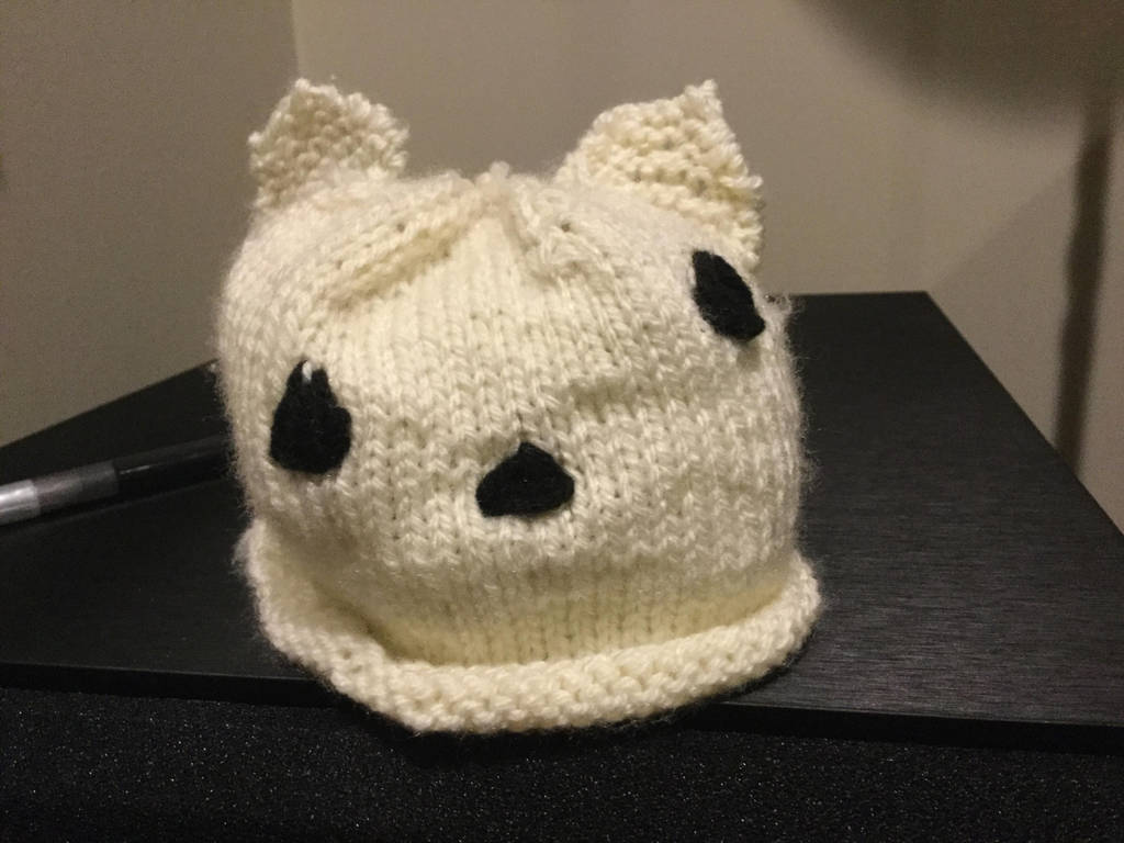 037daf8ee08 ADORABLE baby polar bear hat! by PeriwinklePanther32 on DeviantArt