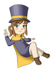 Hat Kid by nickoxo