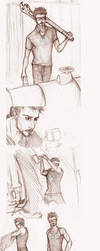 CAUSION! TONY + SCIENCE! by Sanzo-Sinclaire