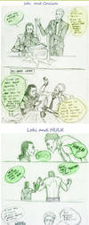 Loki team-up with ... by Sanzo-Sinclaire