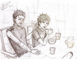 I'm not a morning person by Sanzo-Sinclaire