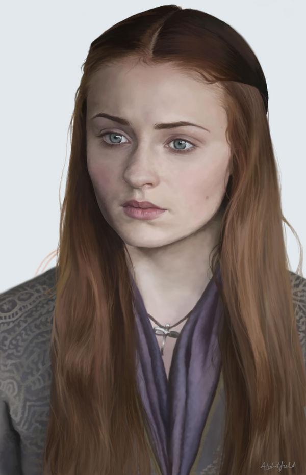 Sansa Stark by phoenix132