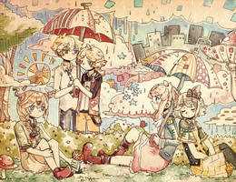 Rainy Days by Ekkoberry