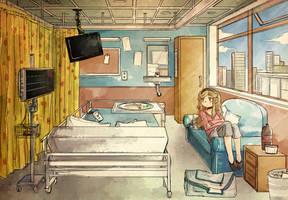 Hospital by Ekkoberry