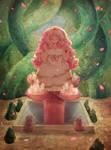 Rose's fountain by Ekkoberry