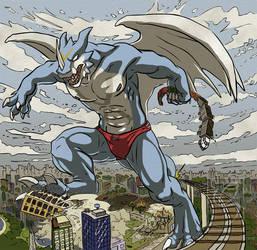 xbuimon comic style by X-Buimon-Sama
