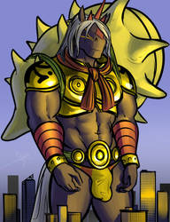 Giant Indramon by X-Buimon-Sama